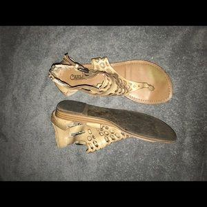 Carlos Santana Shoes - Tan sandals
